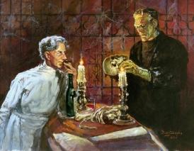 basil-gogos-pretorius-and-the-frankenstein-monster