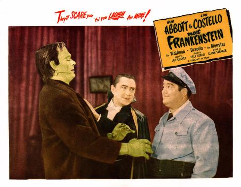 Abbott Costello Frankenstein 7