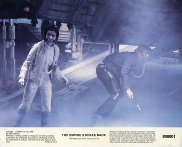 Star Wars Empire Strikes Back Lobby Card