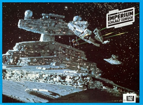 Star Wars Empire Strikes Back Lobby Card