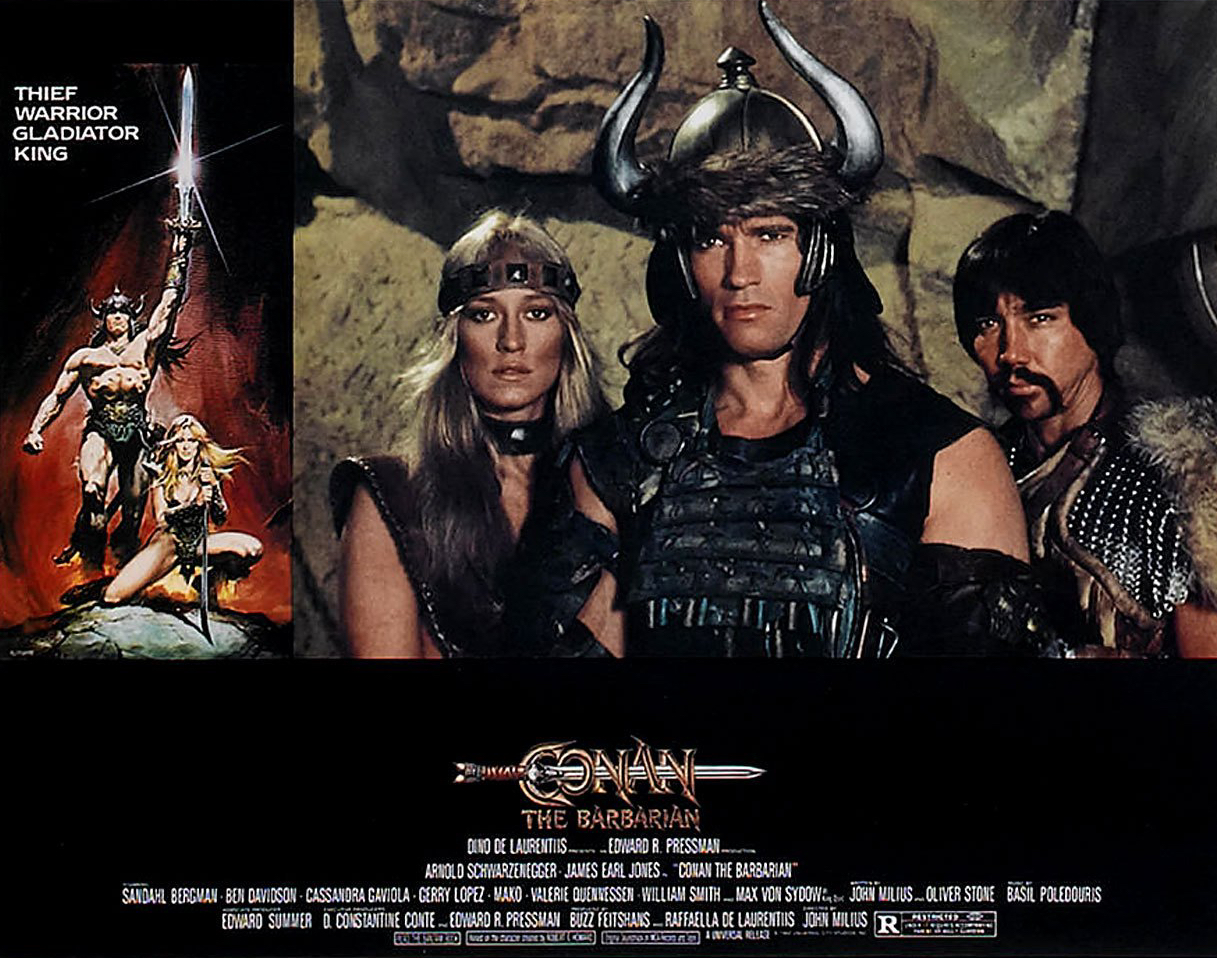 Crush These 'Conan The Barbarian' Lobby Cards and Have Them Driven ...